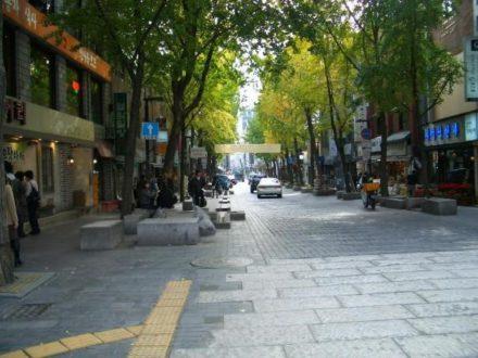 Vacances en Corée quartier Insadong à Séoul avec routedelacoree.com