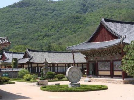 Séjour en Corée à Gyeongju routedelacoree.com vu du temple