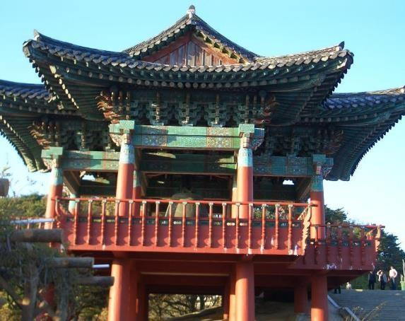 Voyage Corée visite d'un temple coréen vacances avec routedelacoree.com