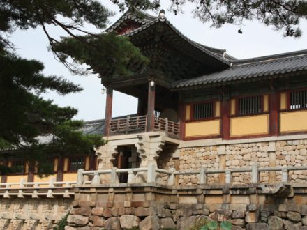 Voyage en Corée Gyongju temple bulguksa